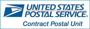 US Postal Service Contract Postal Unit Logo