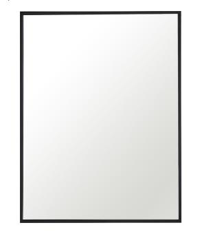Rectangle Metal Frame Mirror