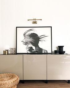 Photo of modern apartment living