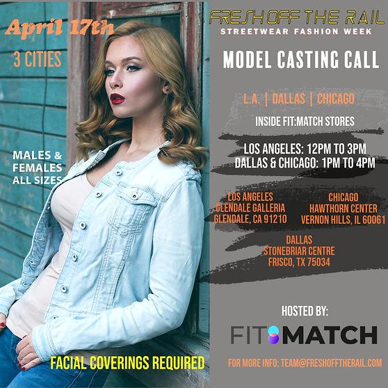 FOTR Season * Model Casting Call