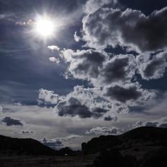 La Garita sky