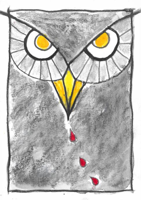 Owl spirit medicine card