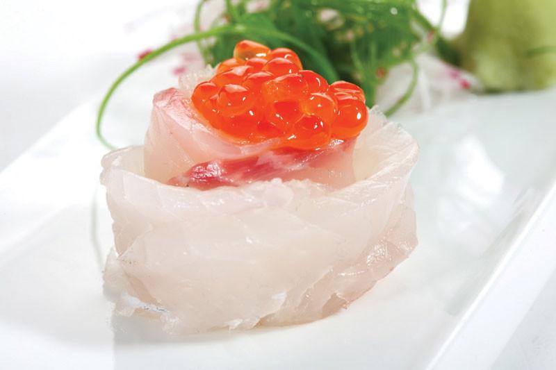 Whitefish Sashimi