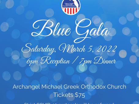 Blue Gala - New Date!