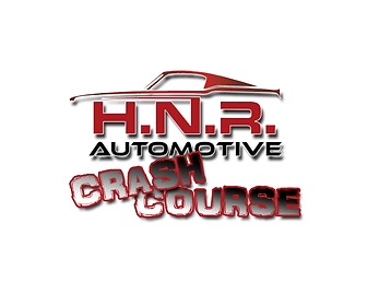hnr automotive crash course game logo