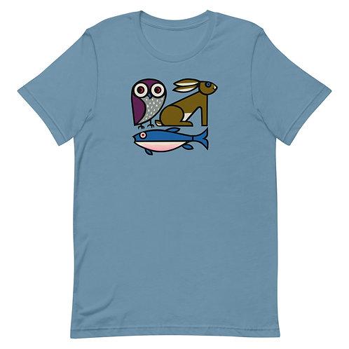Owl, Rabbit & Fish