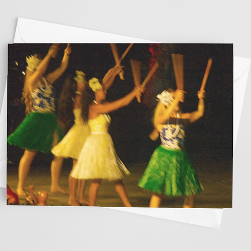 Hula Dancers | 1 Card