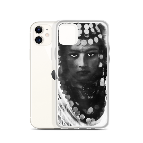 iPhone Case - Berber Woman black&white - by Schirka El Creativo