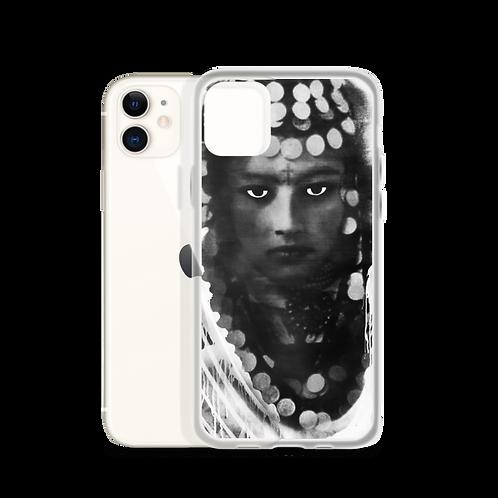 iPhone Case - Berber Woman black&white - by Schirka El Creativo