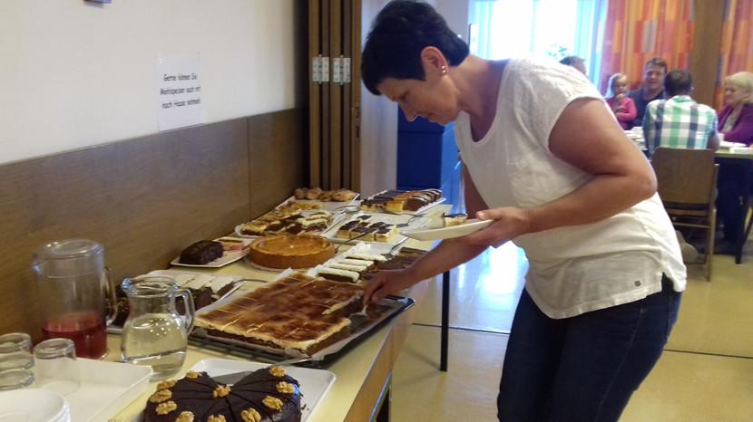 es gibt viele gute Kuchen