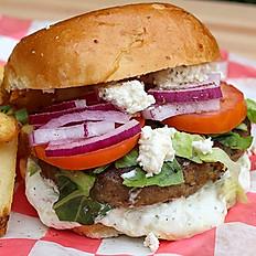 Greek Yaya's Burger