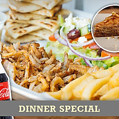 Tray Dinner Special