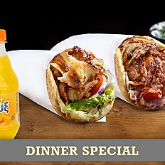 Double Classics Dinner Special