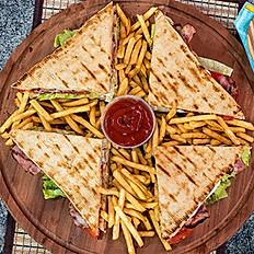 Gyro Club Sandwich