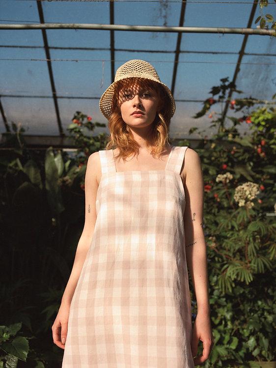 Fern dress _ Pink Gingham SS21