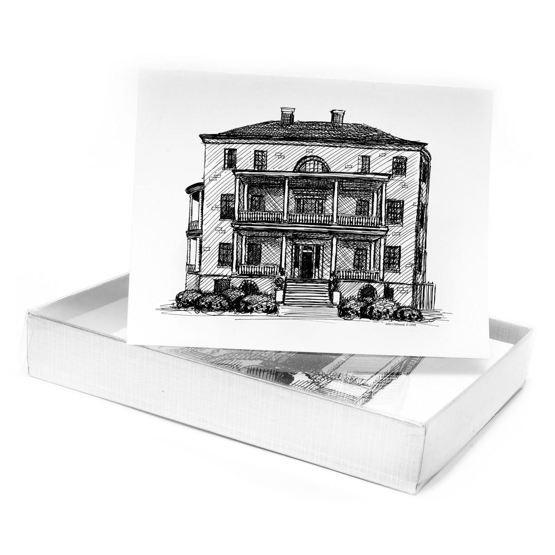 Charleston Buildings Note Cards