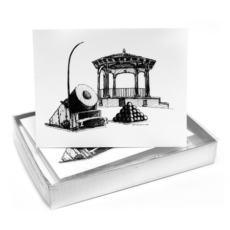 Historic Landmarks Note Cards