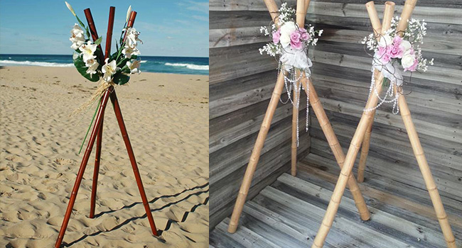 Bamboo Tripods
