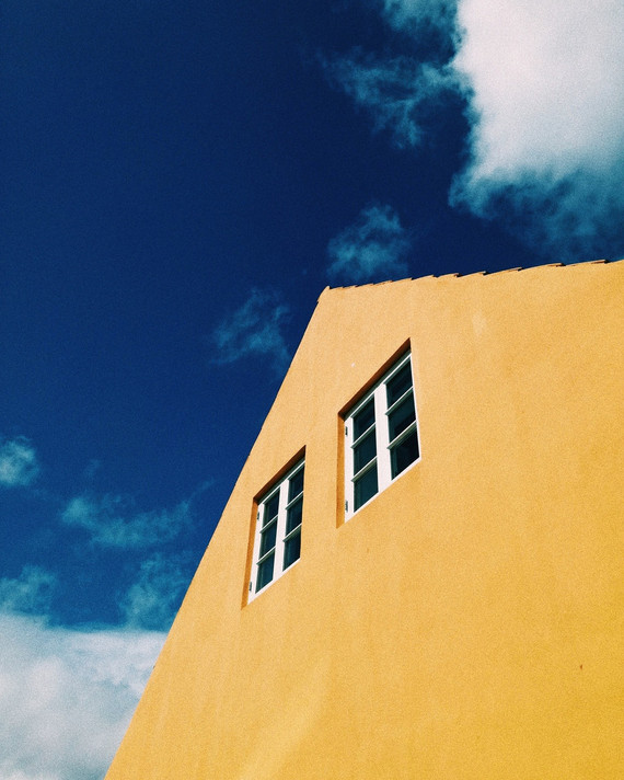 Yellow House.