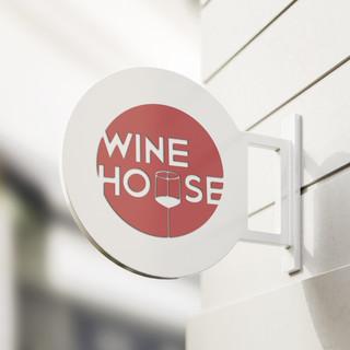 Wine House Logo Design
