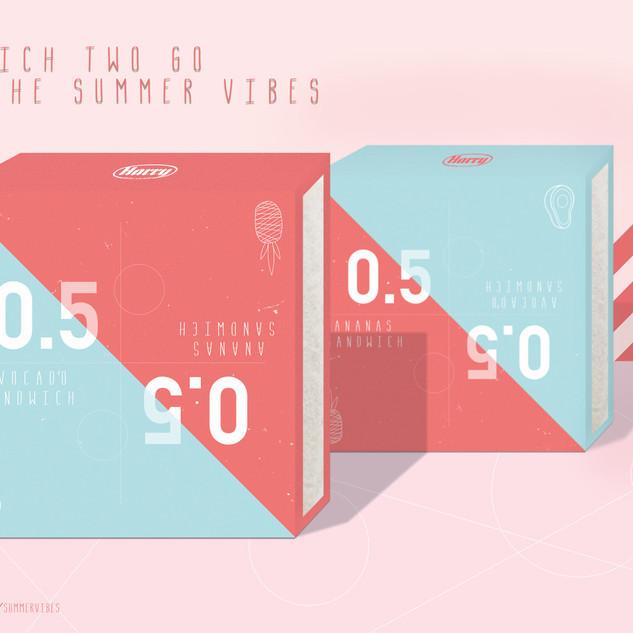 Harry Toast - Verpackungs Design (Schulprojekt)