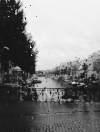 Rainy Amsterdam.
