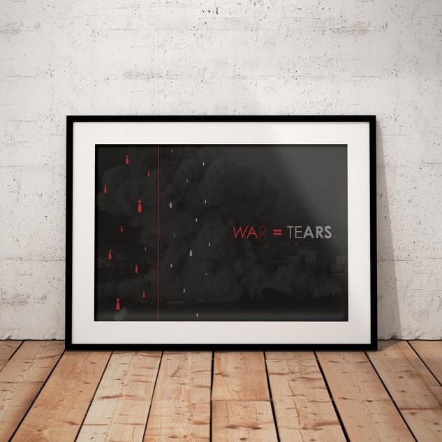 Poster War = Tears.