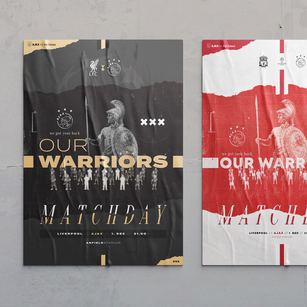 Ajax #MissionMatchday - Poster Design