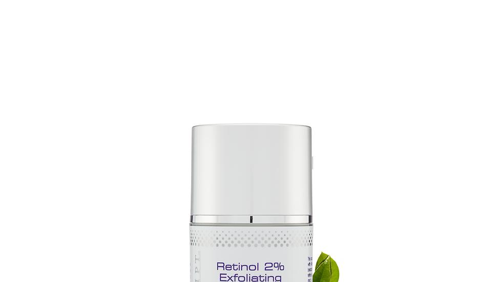 Skin Script - Retinol 2% Exfoliating Scrub 1.7oz