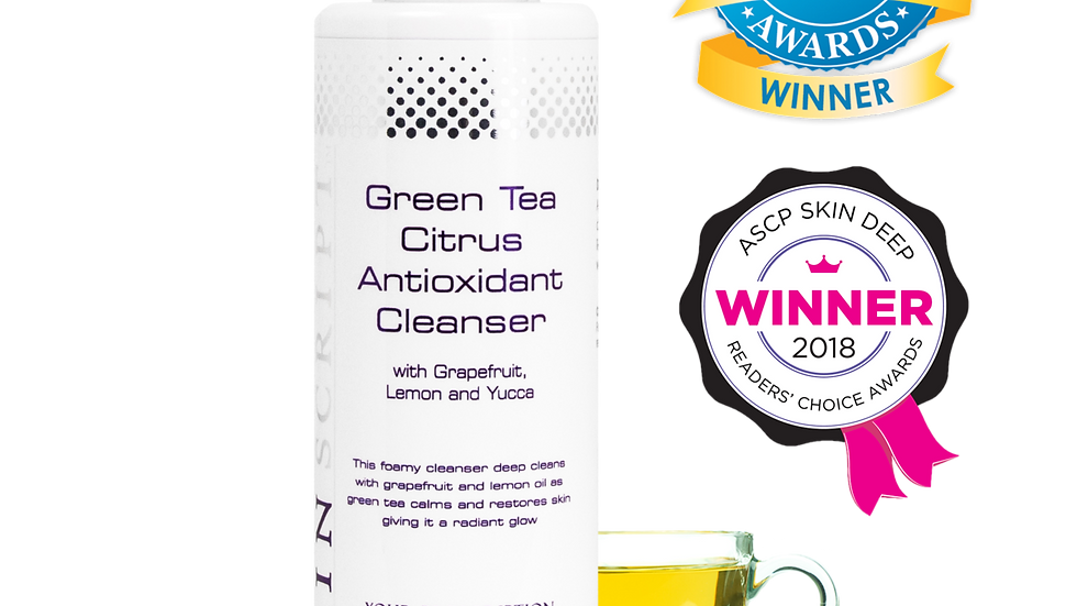 Skin Script - Green Tea Cleanser 6.5oz