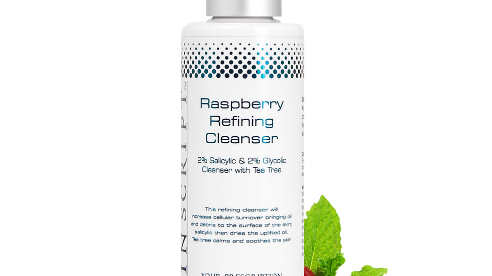 Skin Script - Rasberry Refining Cleanser 6.5oz