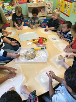 kids baking day