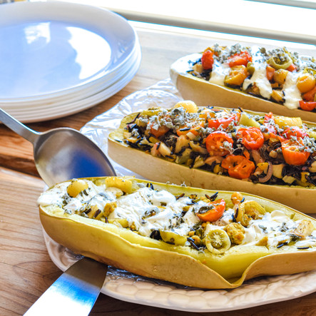 Recipe: Easy Summer Squash Boats