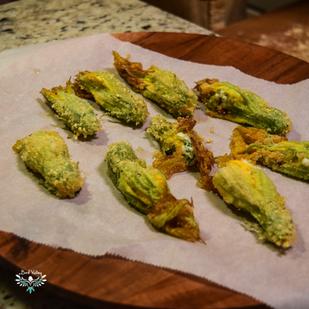 Recipe: Delicious Stuffed Squash Blossoms
