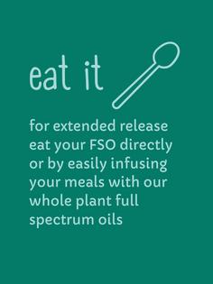 Eat Your Cannabis Medicine