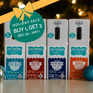 Holiday Sale: Buy One, Get Three for $0.01 Each