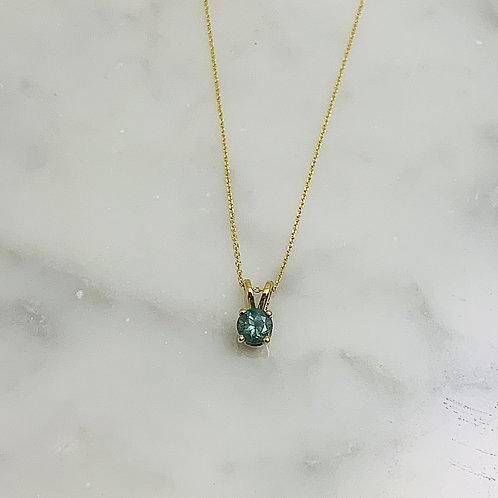 14KY Alexandrite Necklace