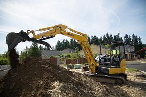 Kobelco SK45SRX compact excavator