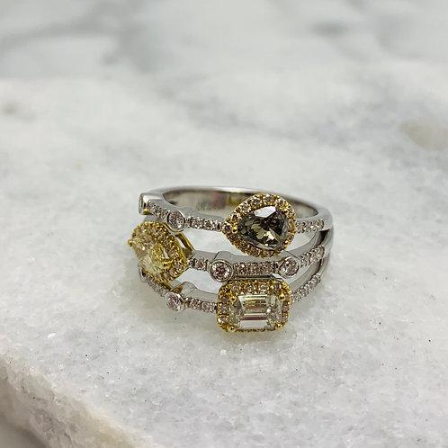 14KW Diamond 2ctw Ring