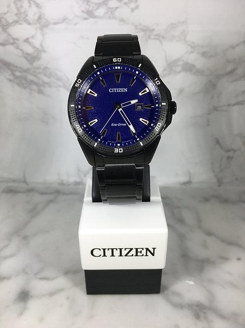 Men's Black Citizen Eco-Drive Bracelet Watch