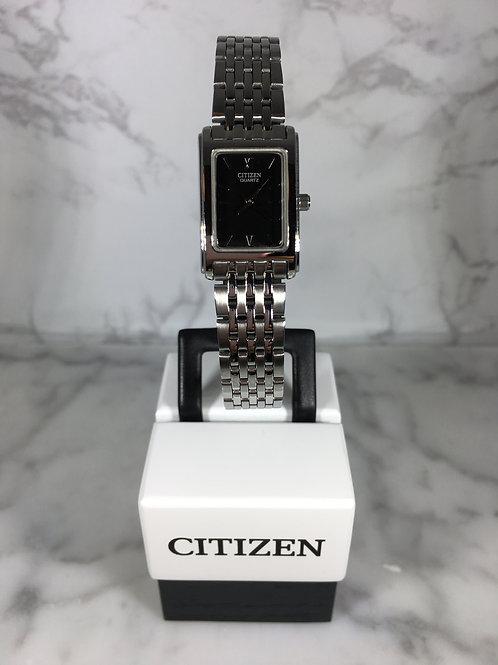 Ladies Silver Citizen Quartz Bracelet Watch
