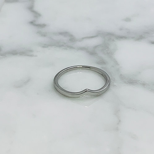 14KW Curved Ring