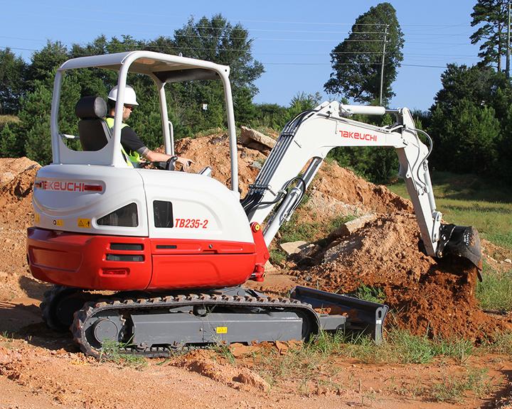 Takeuchi TB235-2 compact excavator