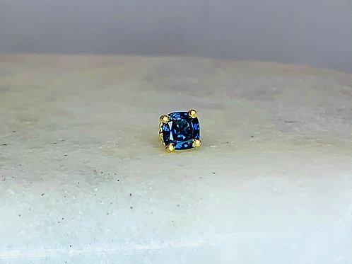 14KY Sapphire Earrings