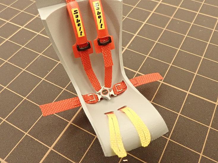 20RH-SAB004 Racing Harness Parts