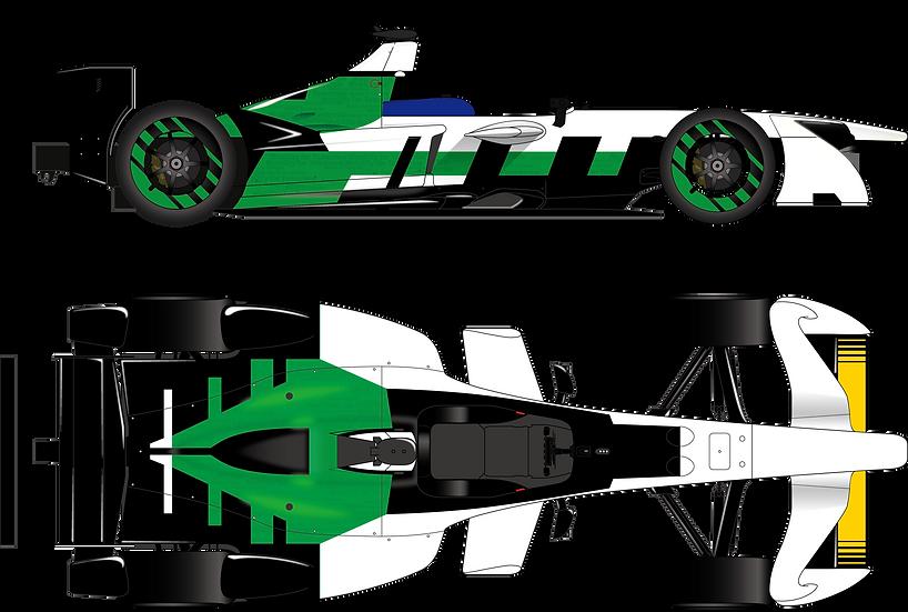 NewScratch 1/20 FormulaE kit 模型ガレージキット