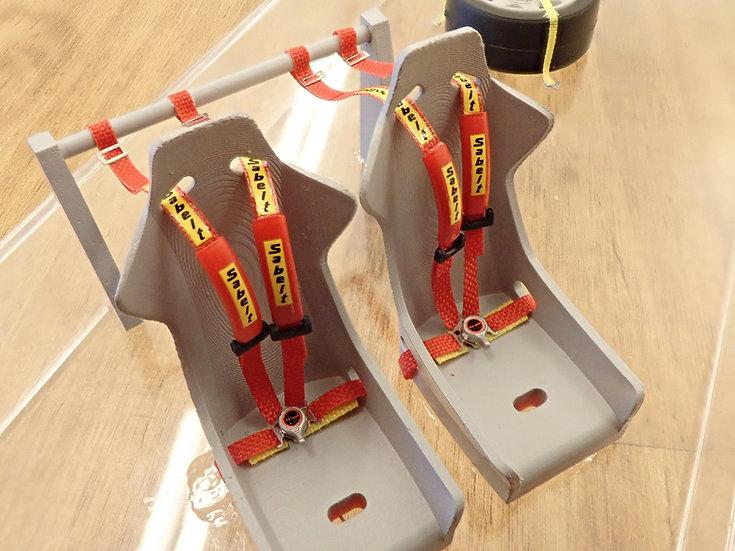24RH-SAB001 Racing Harness Parts
