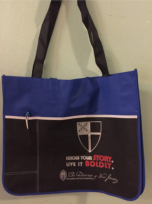 Diocese of New Jersey Tote Bag with stylus