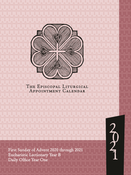 2021 Episcopal Liturgical Appointment Calendar