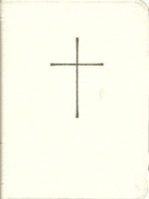 Book of Common Prayer (BCP), Deluxe Personal, White
